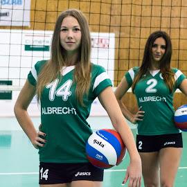 Volleyball by Máté Csöbönyei - Sports & Fitness Other Sports