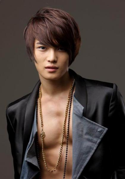 Long Straight Highlighted Hair With Mod The hair styles for men 2010 has an