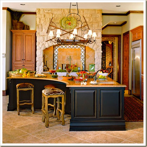 rustic kitchen southern living