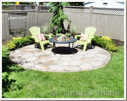 Fire Pit Patio 038a