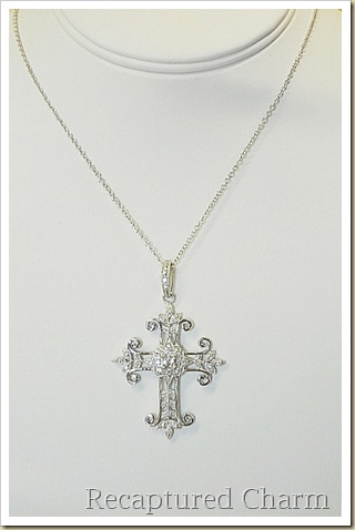 sterling silver cross 006a