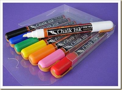 chalk in