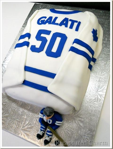 Hockey Birthday Cake Pic