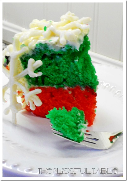 Snowflake Cake 027a