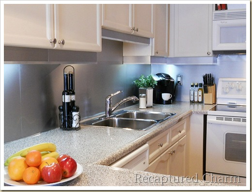 stainless steel backsplash 054a