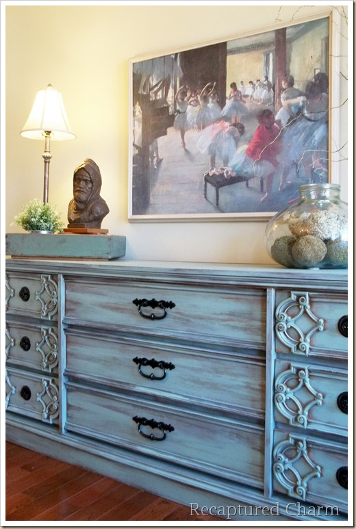 turquoise dresser 043a