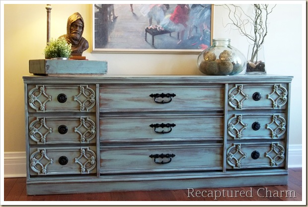 turquoise dresser 032a