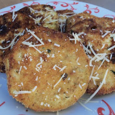 Kittencal's Fried Eggplant Slices (Vegetarian)
