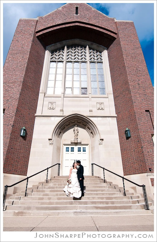 St Mark's Catholic Church in St Paul, MN Wedding photographers