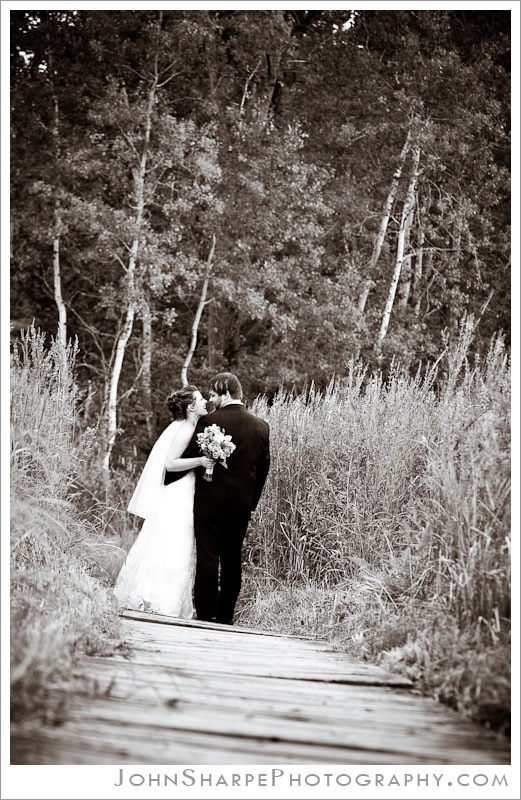 Roseville, MN  Park Wedding photography