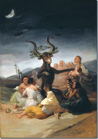 Goya, El aquelarre