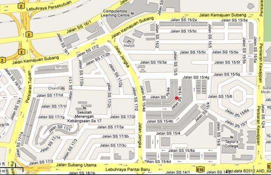 Ayam Penyet - AP map
