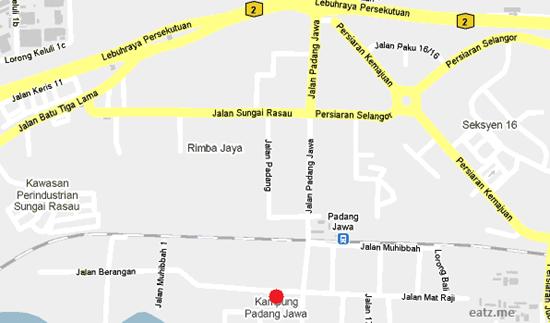 Ayam Penyet Padang Jawa RM5