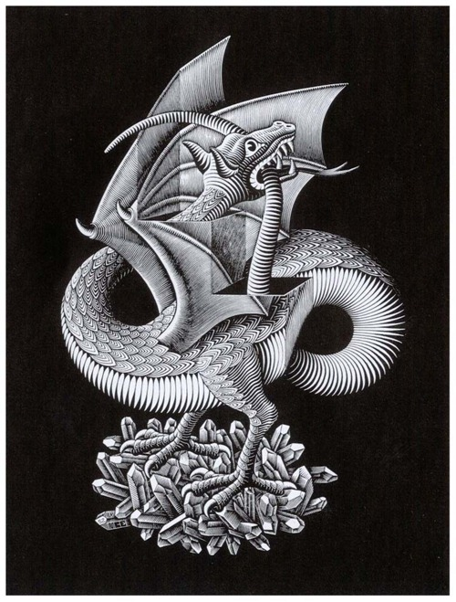 dragon 1952 escher