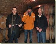 vlnr: Tjitse Mollema (Den Haag), Edwin Verburg (Utrecht) en Michel Gros