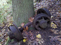 Coal Cart Axles Photo