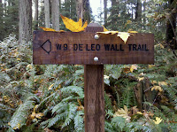 Start to De Leo Wall Trail Photo