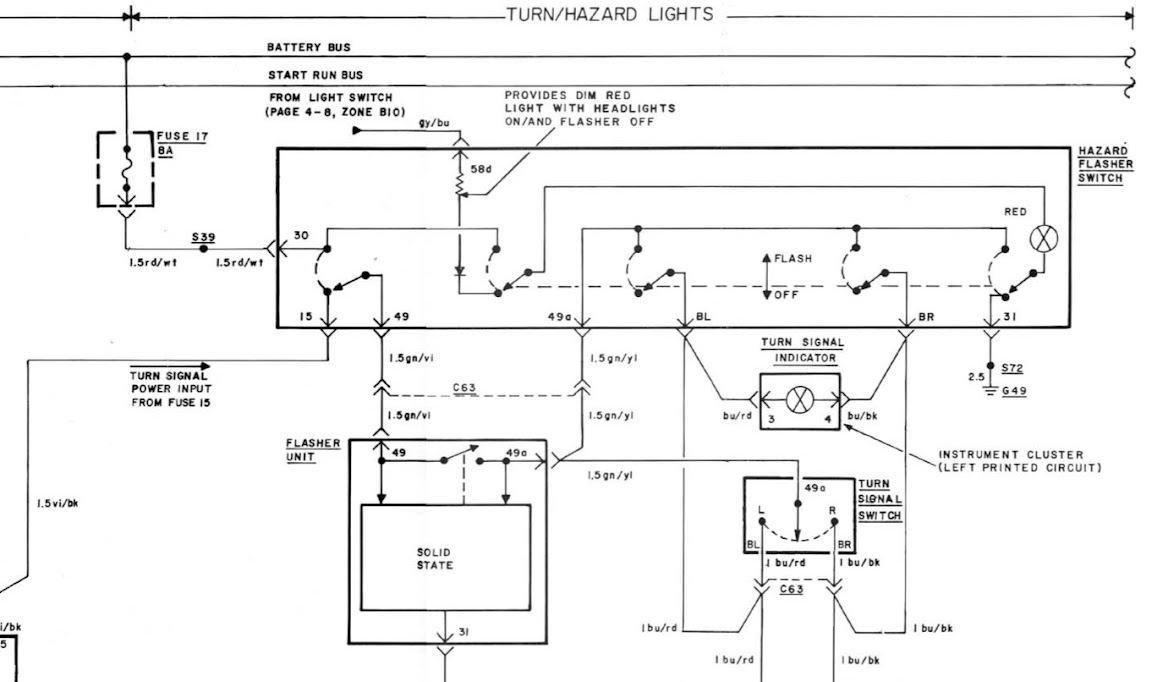 e21 is anti hazard button rh bimmerforums com BMW Stereo Wiring Diagram BMW Stereo Wiring Diagram
