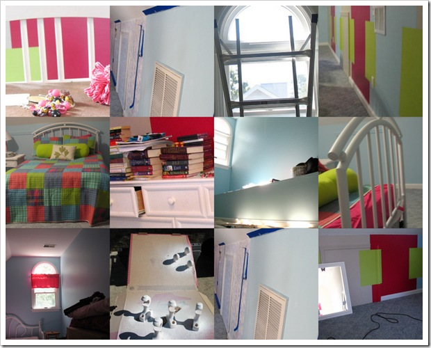 sarah's room progress