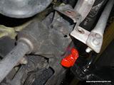remove control arm bolt
