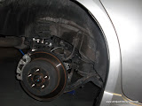 WRX Hatch rear disc brake