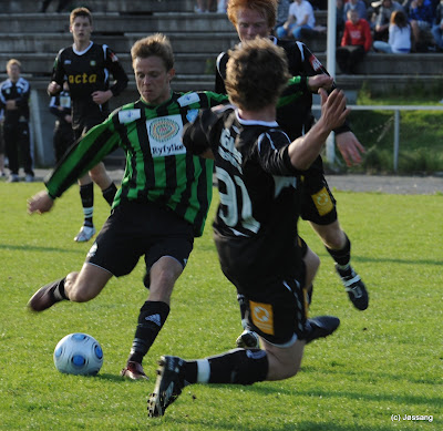 Her scorer Erlend Danielsen
