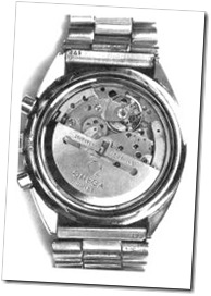 Calibre Omega 1045 com escapamento Co-Axial