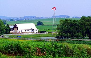 Amish farm #1