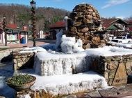 Helen ice fountain