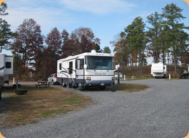 Site 16 , Harvest Moon RV Park