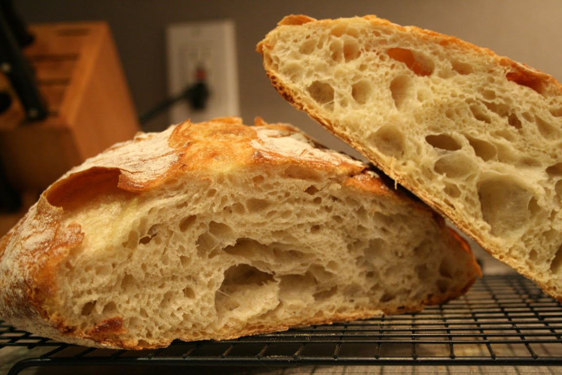 how to prepare simple bread
