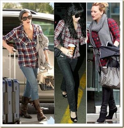 xadrez calça jeans  e legging