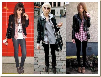 camisa-xadrez jaquetas