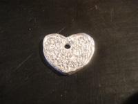 corazon filigrana   Joyas de Bisutería con pasta de plata