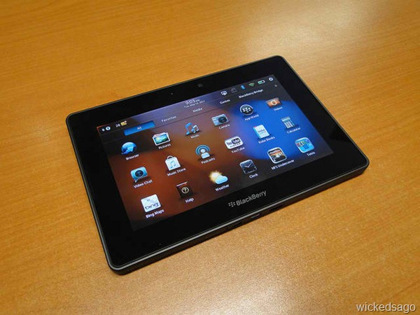 BlackBerry Playbook Tablet [Video, Pictures, and Review]