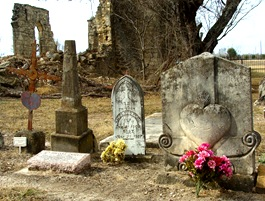 TX Hondo St Dom Primitive Stone Heart