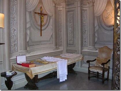 Sacristía Papal