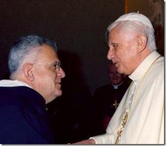 Padre Di Noia con Benedicto XVI