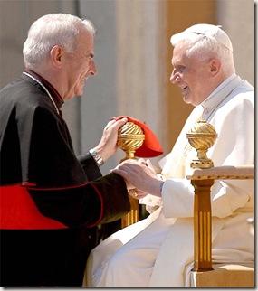 Cardinal $26 Pope Benedict