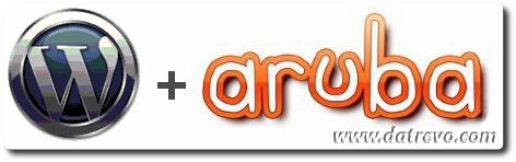 Wordpress + Aruba