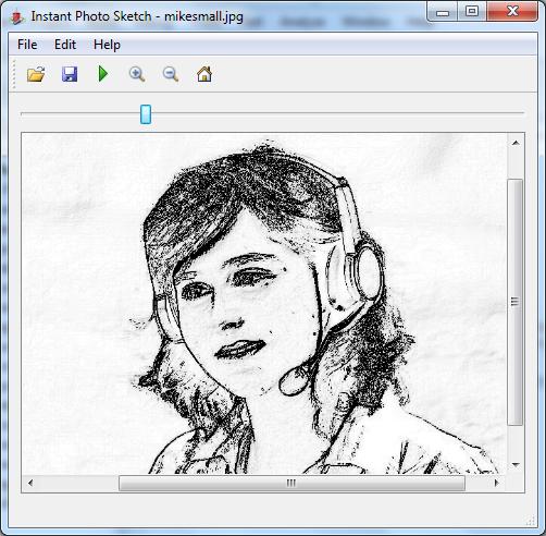 Instant Foto Sketch