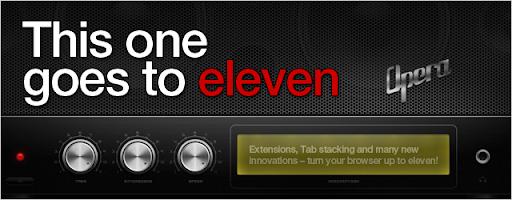 Opera 11: Tab stacking