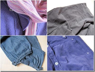 collage tøj