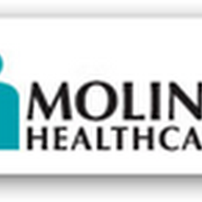 Molina Healthcare Moves Into Texas to Provide Healthcare Services for Low Income Children and Pregnant Women in Rural Counties With Subsidiary Molina Healthcare of Texas Insurance Company