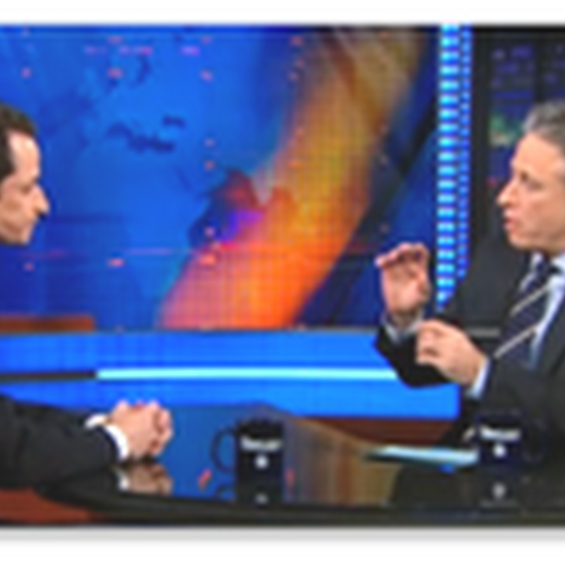 Congressman Anthony Weiner Discusses Healthcare Reform with John Stewart – Daily Show (Old Friends)