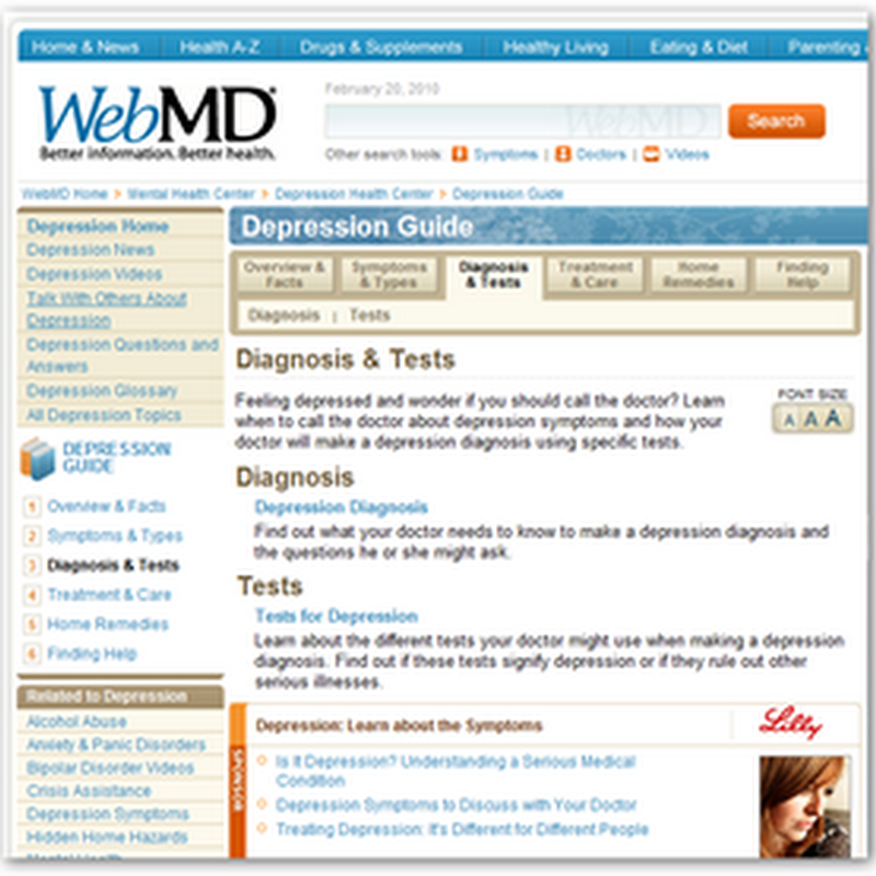 Grassley Checking Up on WebMD With Cymbalta Using Behavioral Algorithms To Sell Drugs By Eli Lilly