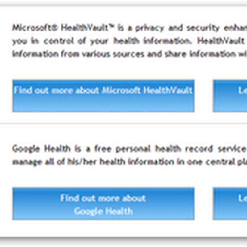 Connecting HealthVault/Google Health and More to RazCode Encrypted Microsoft Tags – Automate Data Input