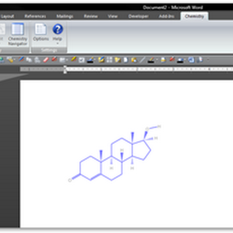 Chemistry Add-in for Word 2007 From Microsoft Research