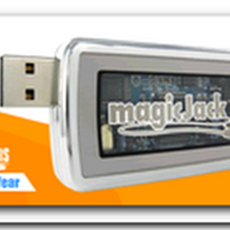Magic Jack – Phone Calls with USB device for $19.95 a year