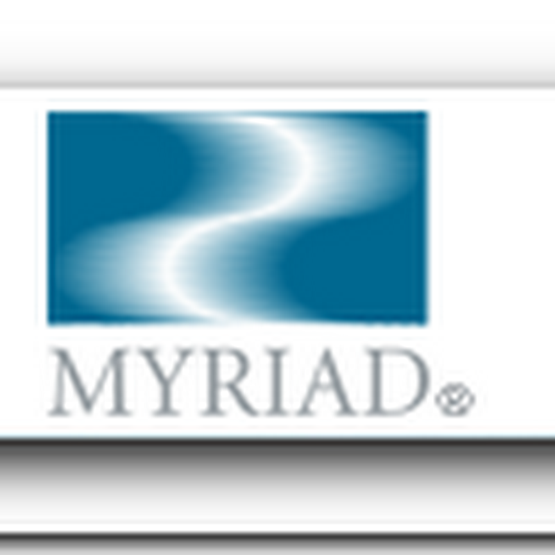 Myriad Genetics Launches Cancer Personalized Medicine Product - Prezeon Test